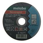 Круг отрезной по металлу Metabo 125х1 мм тип 41 617020000