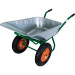 Тачка садовая на двух колесах PALISAD усиленная 320 кг 100 л