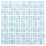 Мозаика Artens Glass голубая 300х300х8 мм 0.09 м2