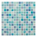 Мозаика Artens Wave голубая 306х306х8 мм 0.09 м2