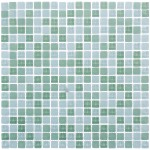 Мозаика Artens Tonic светло-зеленая 300х300х8 мм 0.09 м2
