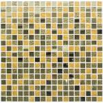 Мозаика Artens золотая Ice 297х297х4 мм 0.09 м2