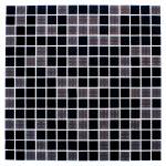 Мозаика Artens Pool черно-серая 327х327х4 мм 0.11 м2