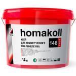 Клей для коммерческого ПВХ-линолеума homakoll 148 Prof 14 кг