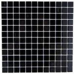 Мозаика Artens Shaker черная 300х300х4 мм 0.09 м2