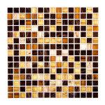 Мозаика Artens Pool коричневая 327х327х4 мм 0.11 м2