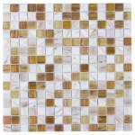 Мозаика Artens Pool бежево-белая 327х327х4 мм 0.11 м2