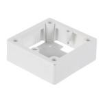 Коробка накладная Legrand 1 пост для встраиваемых розеток 20 А и 32 А 100x100x36 мм 055849