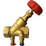 Балансировочный клапан с ручной регулировкой Herz Штремакс-M 10 бар DN 25 мм