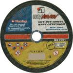 Круг отрезной по металлу Lugaabrasive 115x22.23x1.6 мм М1151622