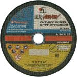 Круг отрезной по металлу Lugaabrasive 180x22.23x3 мм М180322