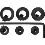 Стопперы для сверл Fit 3-10 мм, 6 шт. 36433