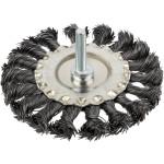 Корщетка-насадка Курс дисковая прямая со шпилькой 100 мм