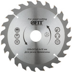 Диск пильный Fit по дереву 200x32x2.4 мм 24 зуба 37748