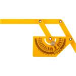 Угломер-квадрант Fit 19301 комбинированный пластиковый 90x155 мм