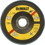 Круг лепестковый Dewalt Extreme 120G 125x22.2 мм