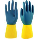 Перчатки Manipula Specialist Союз 7 размер желто-синие