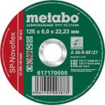 Круг зачистной по металлу Metabo SP-Novoflex 125x22.23x6 мм 617170000