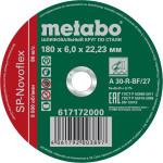 Круг зачистной по металлу Metabo SP-Novoflex 180x22.23x6 мм 617172000