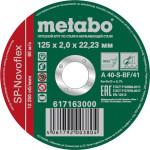 Круг отрезной по металлу Metabo SP-Novoflex 125x22.23x2 мм 617163000