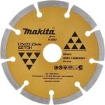 Диск алмазный Makita сегментный 125x22.23 мм B-28092
