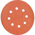 Круги шлифовальные Makita 8 отверстий К100 125 мм, 10 шт. P-43561
