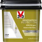 Краска для пола и лестниц V33 Renovation Perfection полубелая матовая 0.75 л