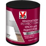 Краска для радиаторов V33 Renovation Perfection белая 0.5 л