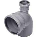 Отвод полипропиленовый PRO AQUA COMFORT d 110 мм х 90 градусов выход 50 прямой