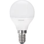 Лампа светодиодная Osram шар матовый E14 6.5W 220V 4000K