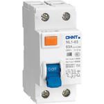 Устройство защитного отключения Chint NL1-63 6kA 2P 16A 10mA тип AC