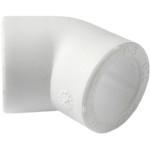 Угольник полипропиленовый Pro Aqua 45 градусов PP-R белый 20 мм