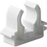 Опора полипропиленовая Pro Aqua одинарная PP-R белая 20 мм