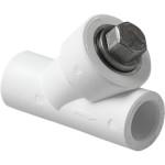Фильтр полипропиленовый Pro Aqua сетчатый PP-R В-В белый 25 мм