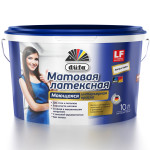 Краска водно-дисперсионная Dufa Mattlatex Mix база1 10 л