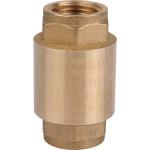 """Клапан обратный Stout пружинный муфтовый с металлическим седлом 1/2"""" SVC-0011-000015"""