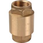 """Клапан обратный Stout пружинный муфтовый с металлическим седлом 3/4"""" SVC-0011-000020"""