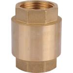 """Клапан обратный Stout пружинный муфтовый с пластиковым седлом 1"""" SVC-0012-000025"""