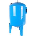 Расширительный бак Stout STW-0002-000100 гидроаккумулятор 100 л вертикальный синий