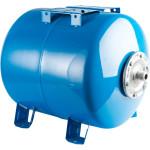 Расширительный бак Stout STW-0003-000080 гидроаккумулятор 80 л горизонтальный синий