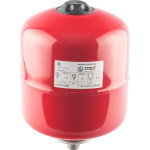 Расширительный бак на отопление Stout STH-0004-000008 8 л красный
