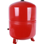 Расширительный бак на отопление Stout STH-0005-000100 100 л красный