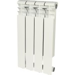 Радиатор алюминиевый Rommer Profi 500 4 секции белый RAL9016 82482