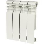 Радиатор алюминиевый Rommer Profi 350 4 секции белый RAL9016 86620