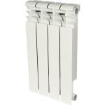 Радиатор биметаллический Rommer Profi BM 500 4 секции белый RAL9016 82487