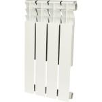 Радиатор биметаллический Rommer Optima Bm 500 4 секции белый RAL9016 89570