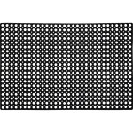 Коврик Vortex ячеистый грязесборный 80x120x1.6 см черный