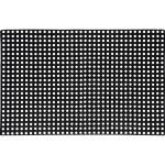 Коврик Vortex ячеистый грязесборный 100x150x1.6 см черный