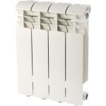 Радиатор алюминиевый Global ISEO 350 4 секции белый RAL9010 IS035004