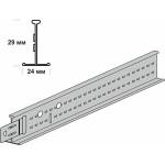 Подвесная система Knauf ARMSTRONG Bajkal Zn рейка несущая 3600x29 мм белая